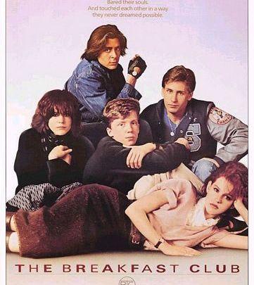فيلم الثمانينات the breakfast club