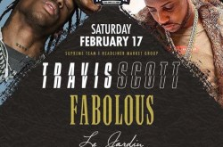Travis Scott & Fab are hosting at Le Jardin Nightclub in Hollywood.