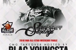 Blac Youngsta is hosting at Secret Sundayz Strip Club.