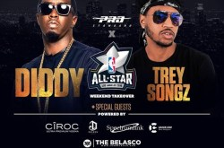 Diddy & Trey Songz will be at The Belasco Theatre Nightclub.