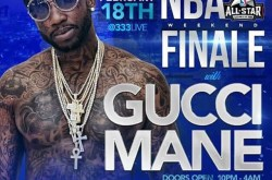 Gucci Mane NBA All Star Finale at 333 Live in DTLA.