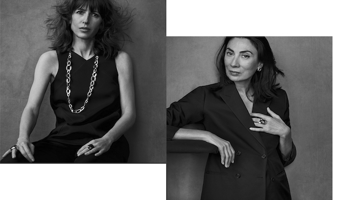 Anh Duong (1960) y Caroline Corbetta (1972) para Pomelatto for Women 2017. Foto de Peter Lindbergh