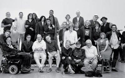 Los grandes de la escena cultural neoyorquina juntos para una foto