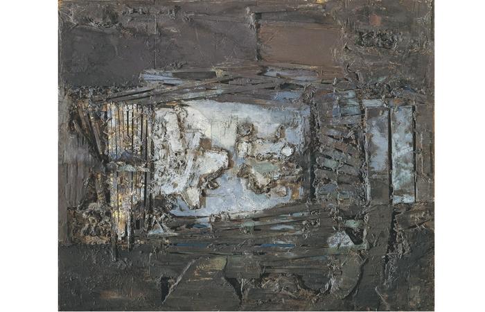ECCE MOMO de Lucio Muñoz, 1963
