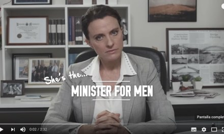 She's the Minister for Men, la ficción que inspiró un Minister for Women…