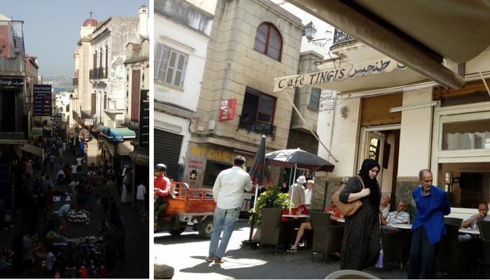 la Medina, café Tingis