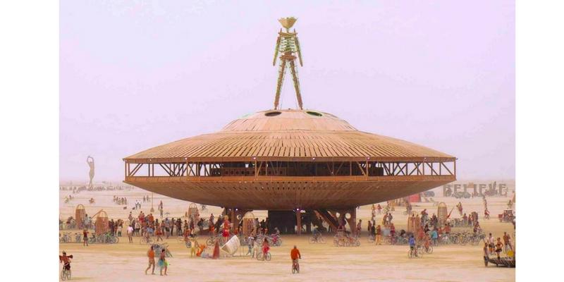 Burning Man 2013. Foto: Jennifer Morrow