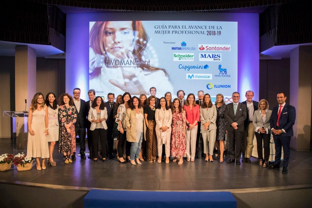 Presentación de la Guía para el Avance de la Mujer Profesional II, organizado por WOMANTalent 2018
