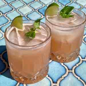 Grapefruit Basil Cocktail