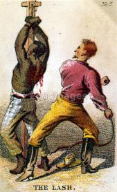The Lash / Henry Louis Stephens. Image date: ca. 1863. Card depicting the whipping of an African-American slave. Part of a series of collecting cards depicting the plight of the slave.
