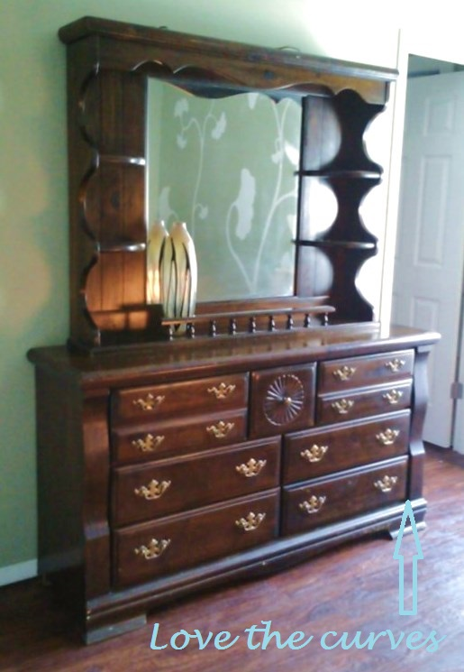 Dressing A Dresser  On The Cheap