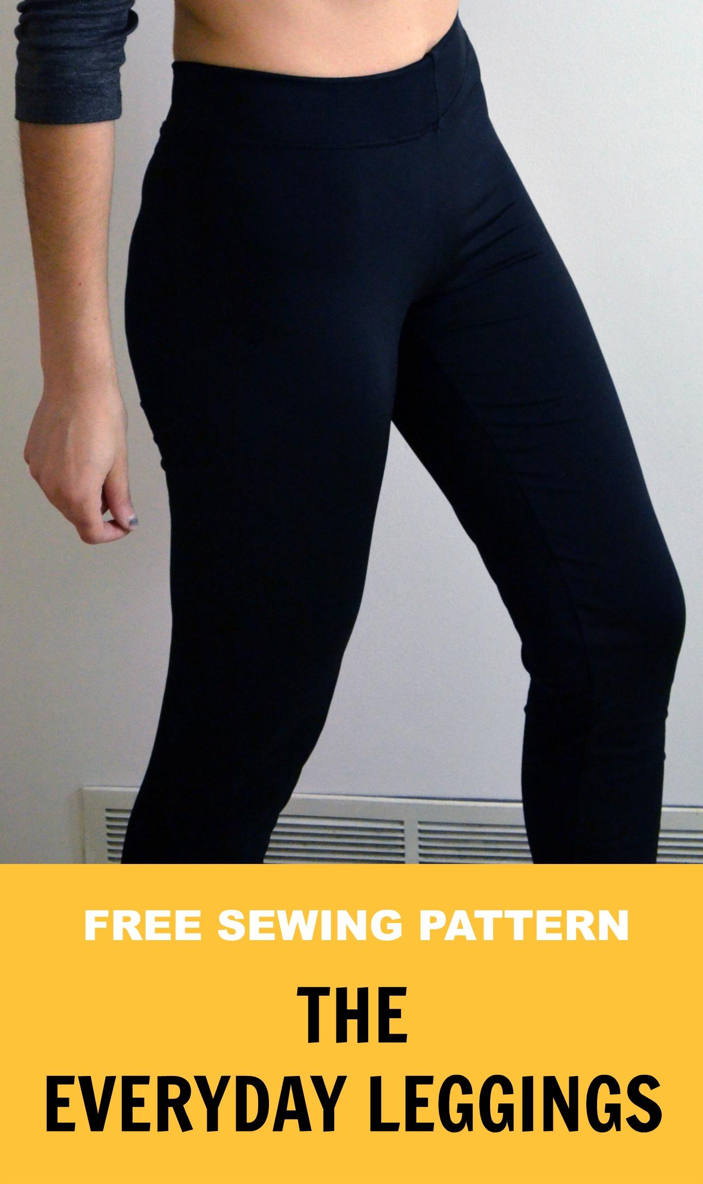 Leggings Sewing Pattern : leggings, sewing, pattern, SEWING, PATTERN:, Everyday, Leggings, Cutting, Floor:, Printable, Sewing, Patterns, Tutorials, Women