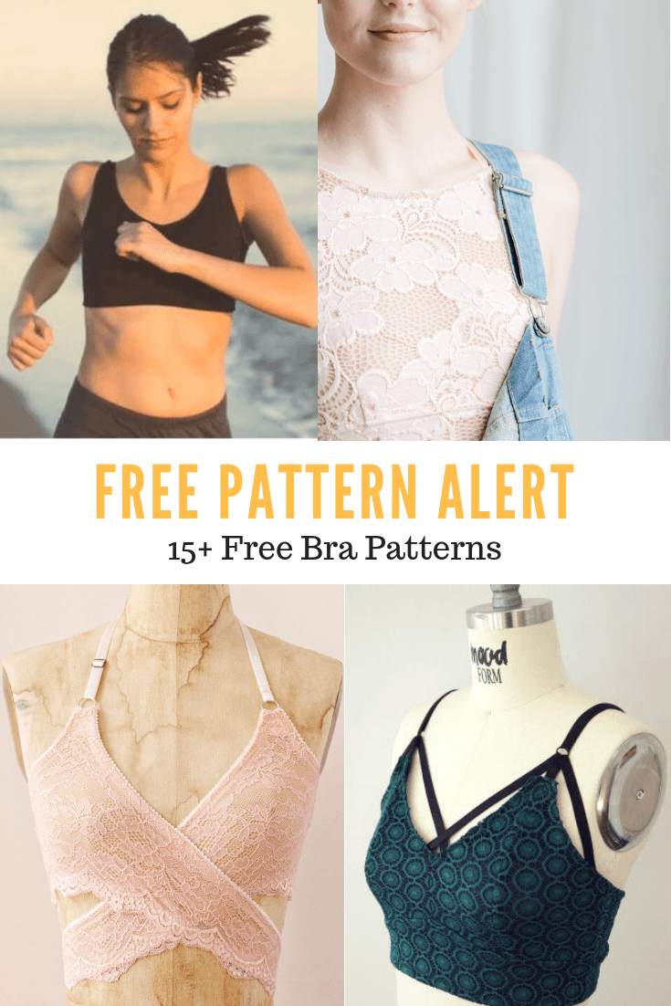 Bra Patterns Free Download : patterns, download, Printable, Sewing, Patterns, Women, Cutting, Floor:, Tutorials