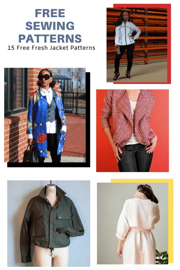 Jacket Patterns Free : jacket, patterns, PATTERN, ALERT:, Fresh, Jacket, Patterns, Cutting, Floor:, Printable, Sewing, Tutorials, Women