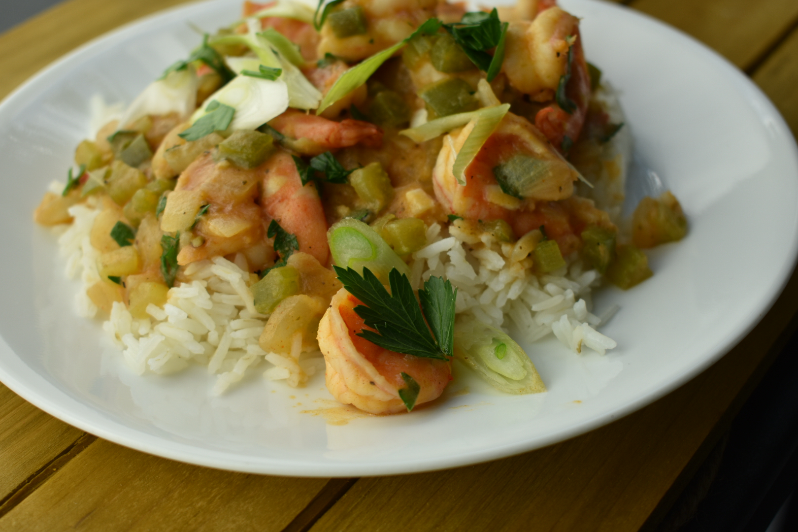 Quick and Easy Shrimp Étouffée