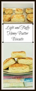 Light and Fluffy Honey Butter Biscuits Pin
