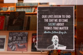 Everyone's Books shares the powerful words of Dr. Martin Luther King, Jr. to remind us of what's important.