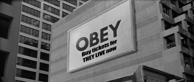 Fright Club Promo Image for They Live
