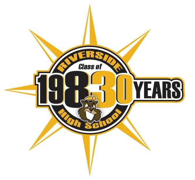 Drum Roll 30th Reunion Logo! Riverside High School