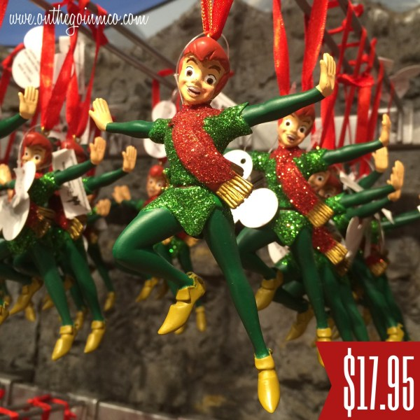 Disney Peter Pan Christmas Ornaments