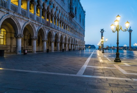 Venice Sunrise at Doge's Palace