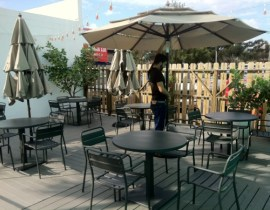 Dine out on the patio