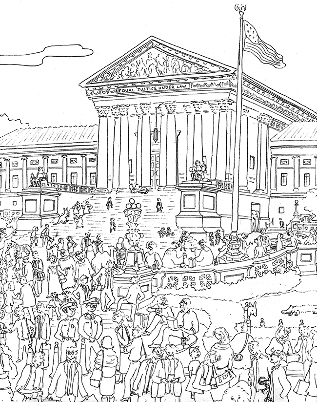 Coloring Book The Supreme Court