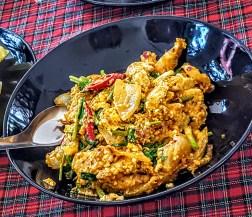 Savory chicken dish