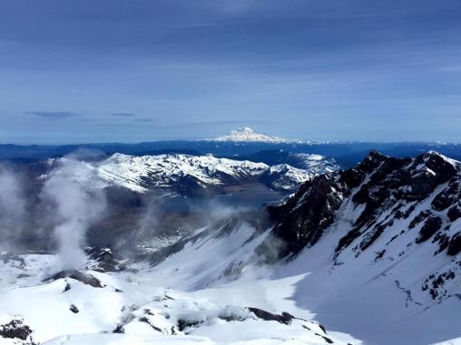 Mount St. Helens Crater (Photo Cred: Andy Shaw)