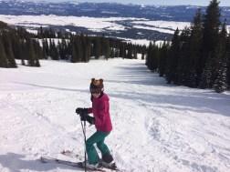 Private Ski Run at Tamarack Resort, ID