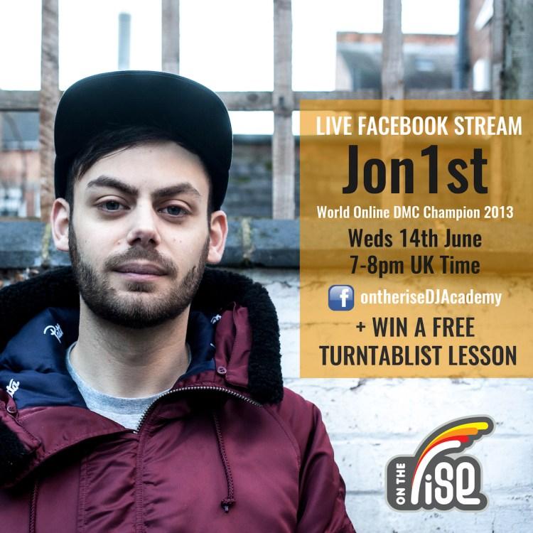 Jon1st - LIVE Facebook Stream + WIN A Lesson!