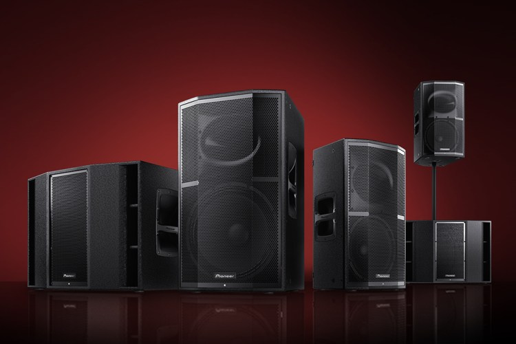Pioneer XPRS PA Speakers
