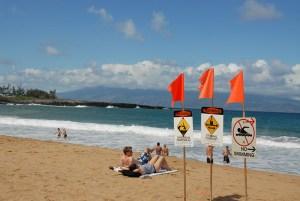 2-20 - Fleming beach signs