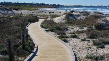8-20 - asilomar path to beach