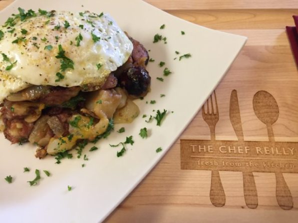 Chef Reilly's Sausage Skillet