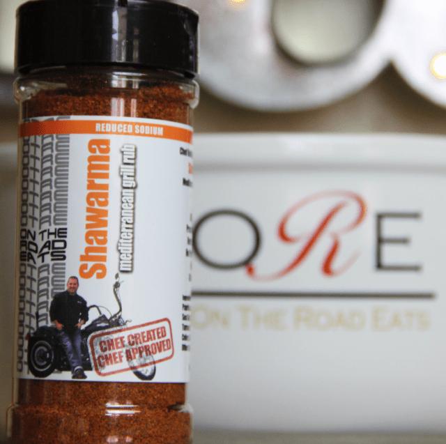 Shawarma Mediterranean Grill Rub Seasoning