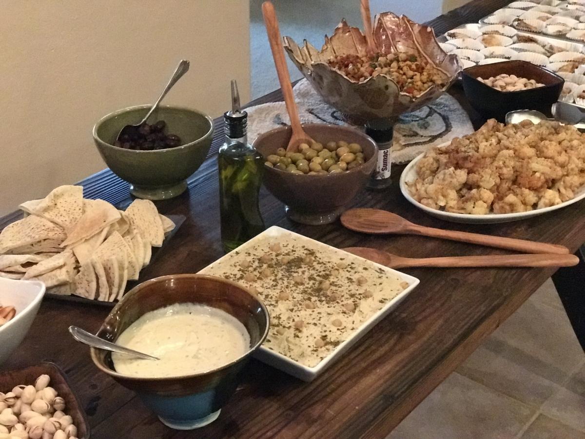 Israel Tour Info Meeting Menu Ideas Recipes