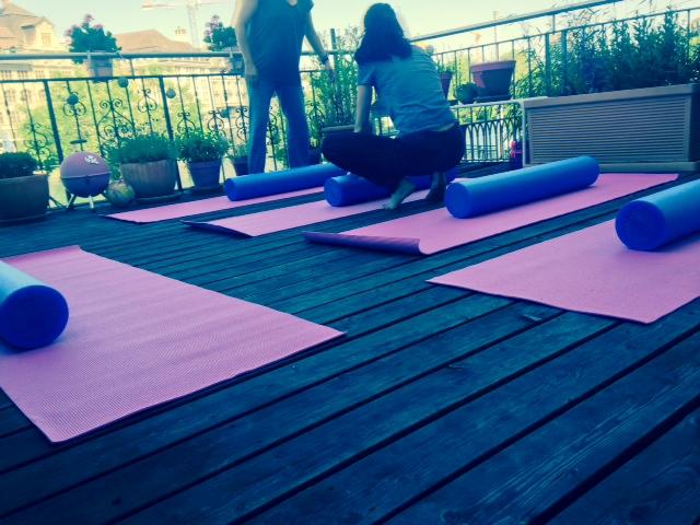 Terrassen Pilates