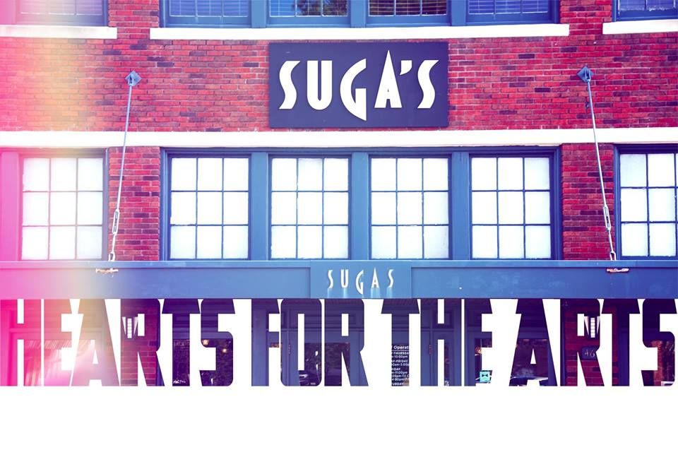 Suga's Hearts for the Arts