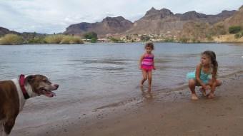 the beach at River Island SP