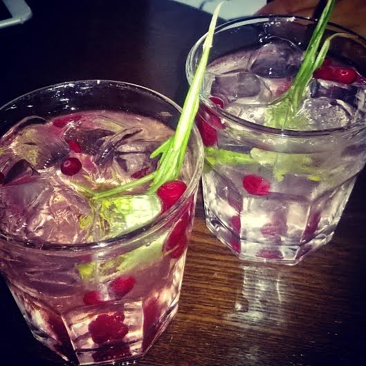 gins with cranberry