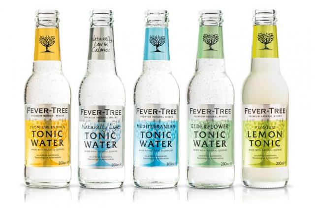 fever tree tonics