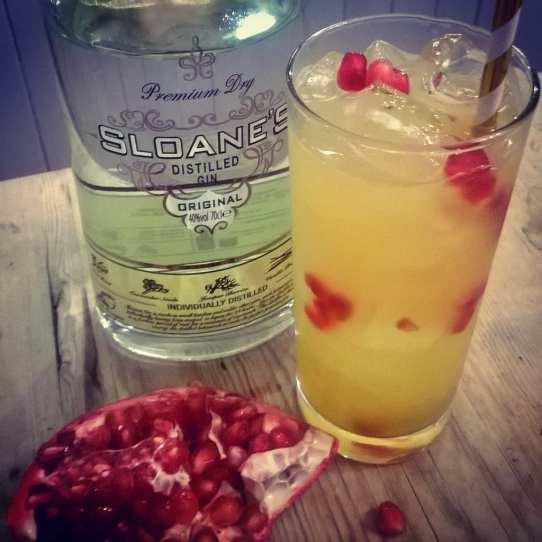 citrus cocktail sloeanes gin