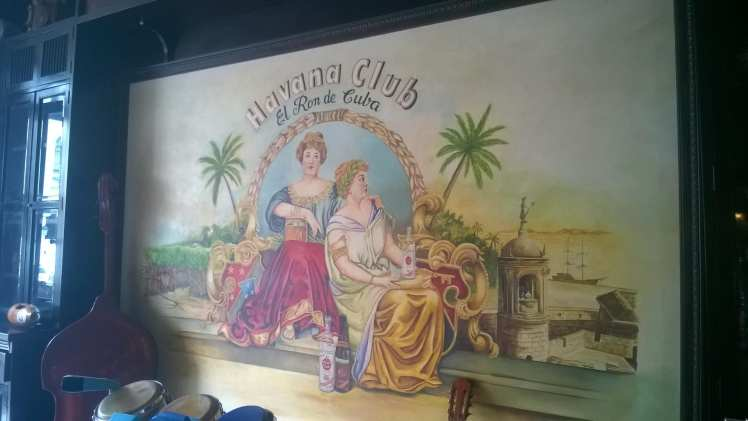 havana club wall