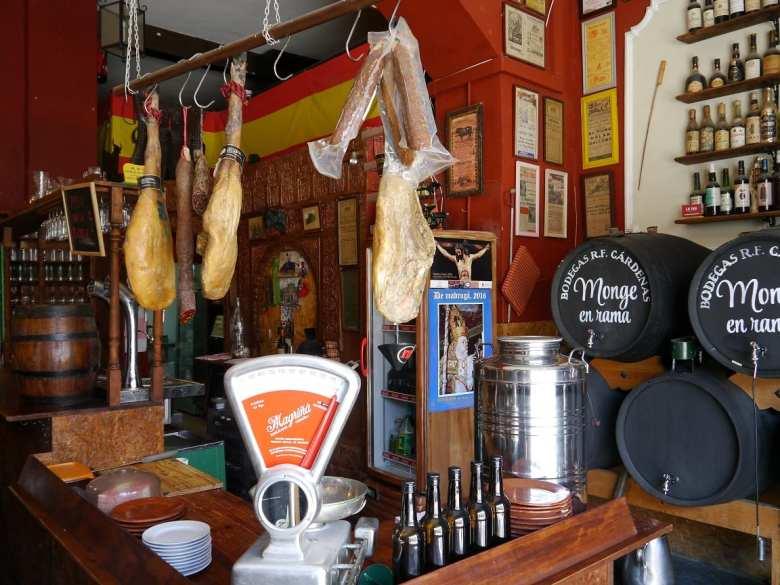 sherry tapas bar