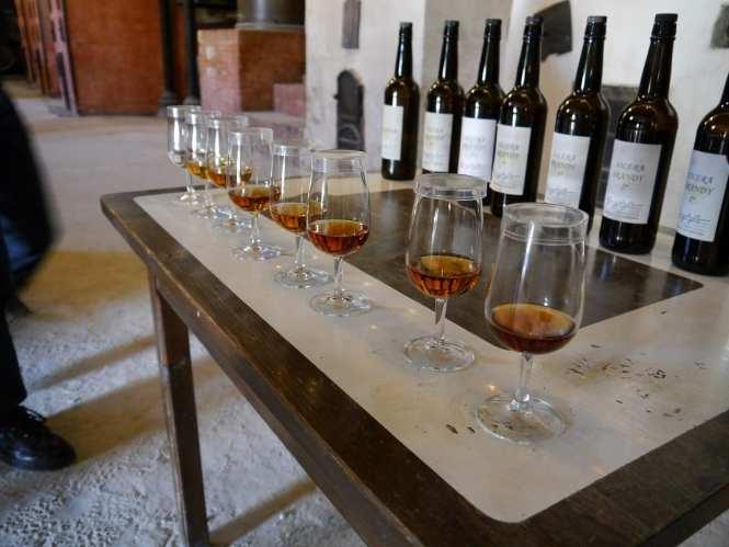 sherry tasting