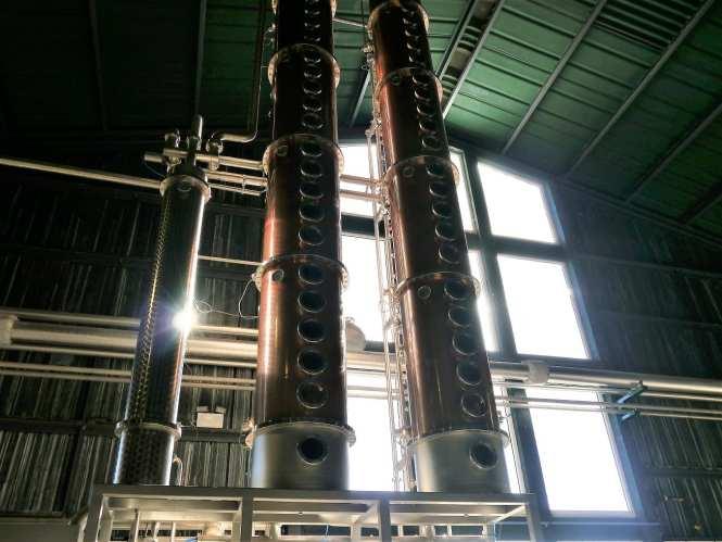 Column stills at Arbikie