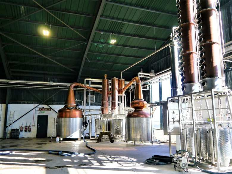 vodka distillery