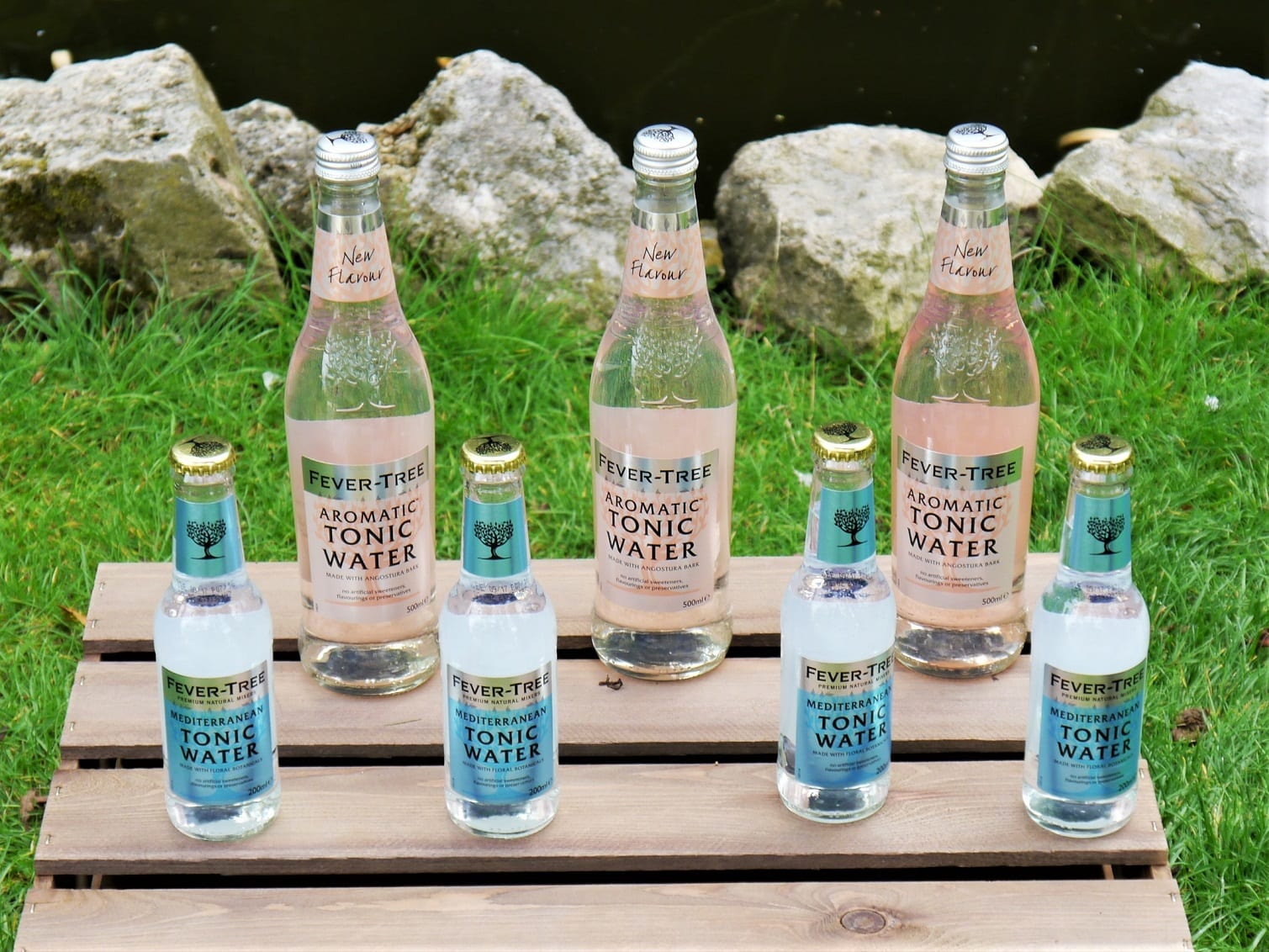 Tonic water for savoury gin