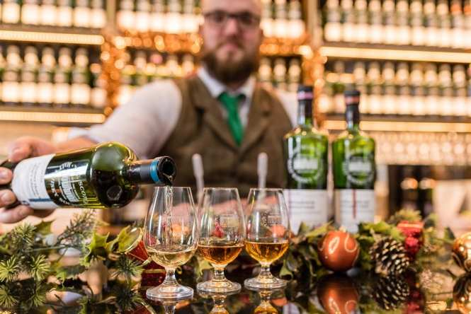 SMWS whisky bar